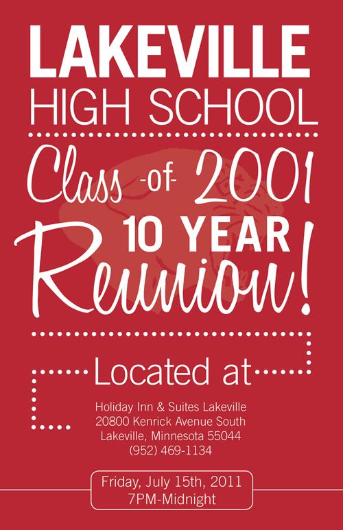 LV HIGH SCHOOL REUNION - Michael Long