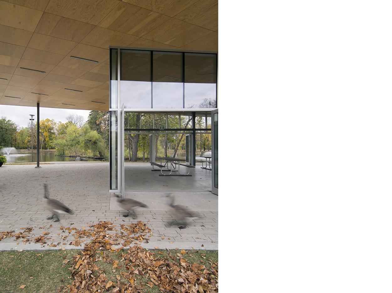 St Vital Park Pavilion 1x1 Architecture