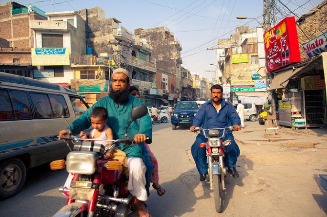 Feature Pakistan Street Scenes James Longley