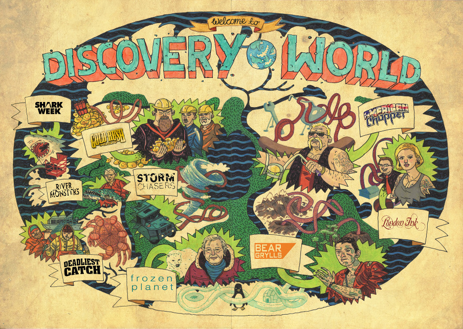 Discovery Channel Posters Discovery Channel Poster