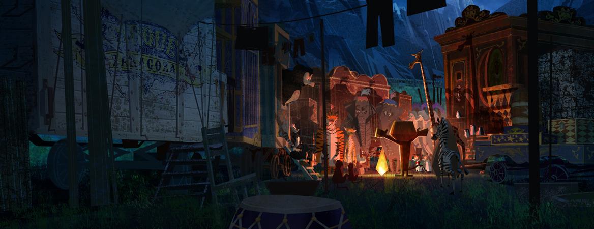 Dreaming >> Madagascar 3 - Pandagun